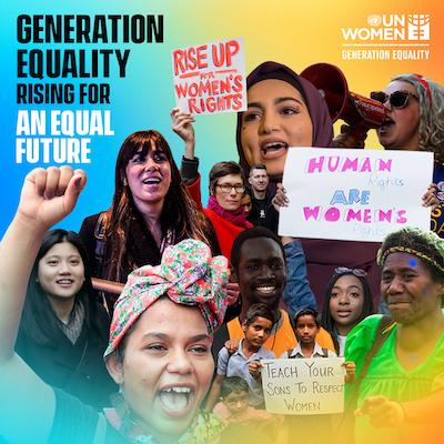 generation equality rising